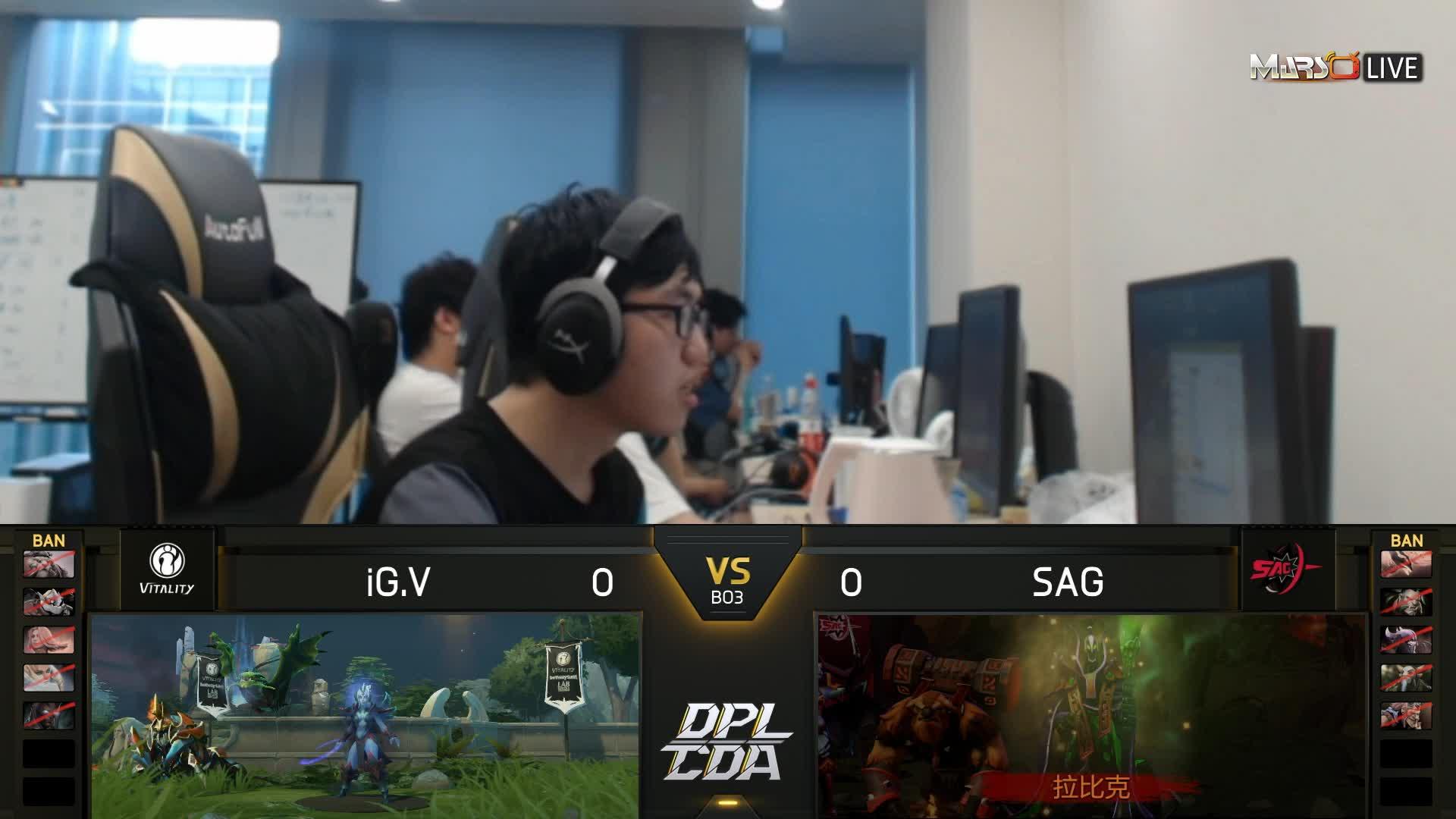 常规赛 iG.V vs SAG - 1