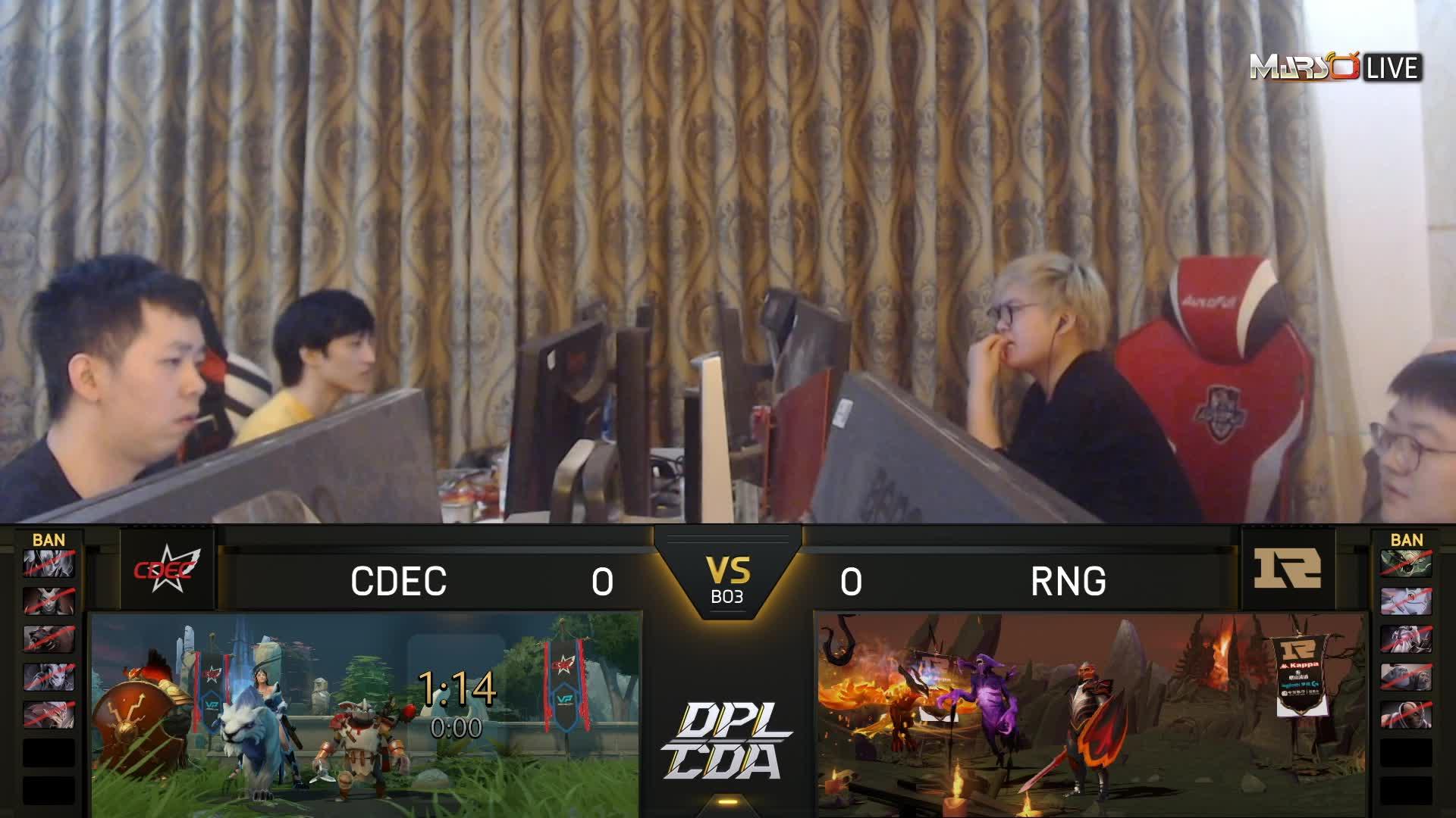 常规赛 RNG vs CDEC - 1