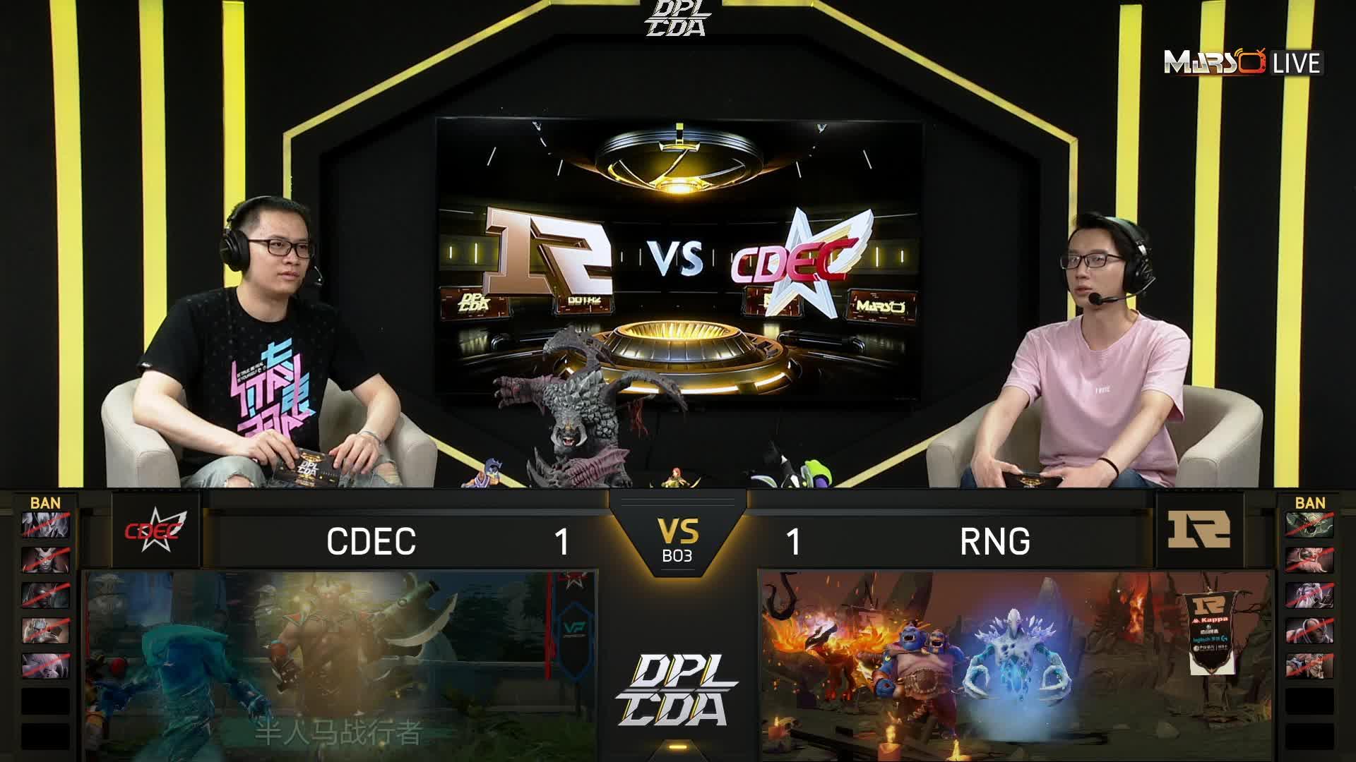 常规赛 RNG vs CDEC - 3