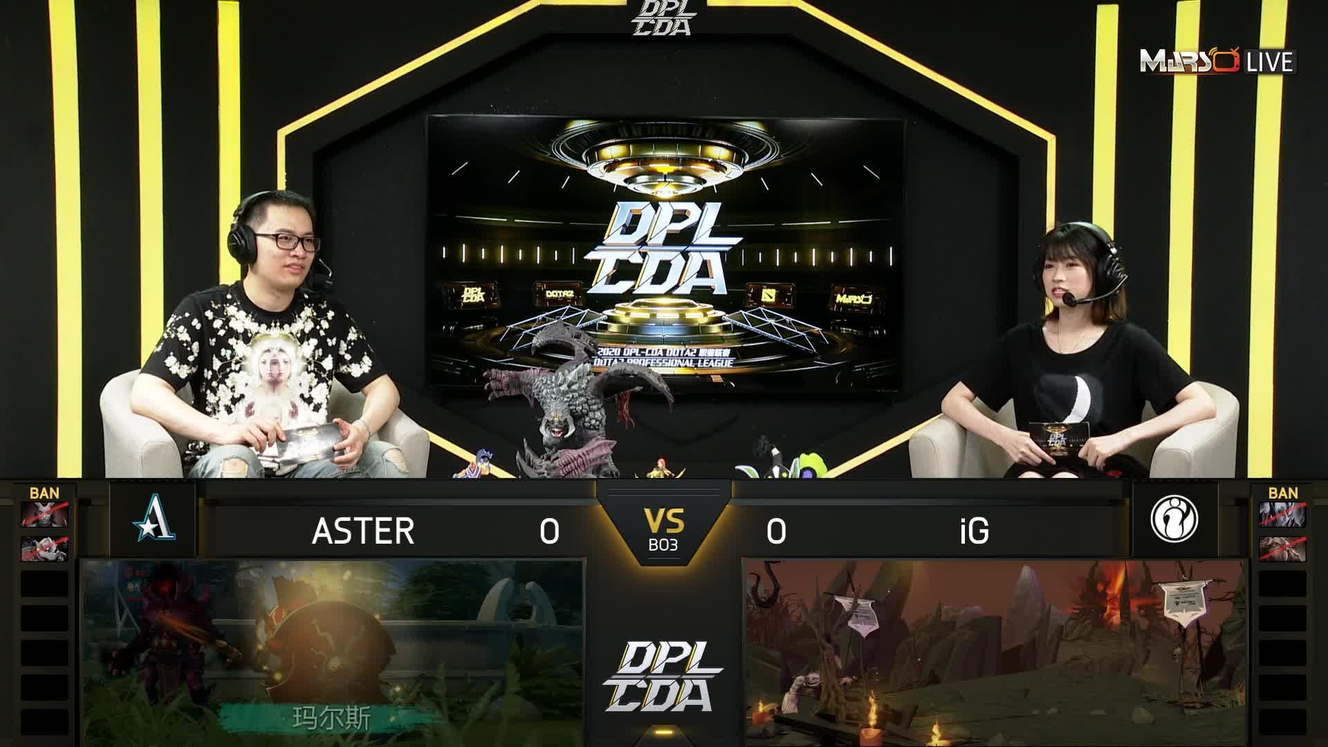 常规赛 iG vs Aster - 1