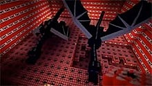 趣味动画:五十万个炸药对战两条末影龙