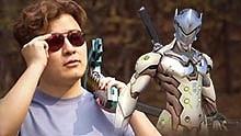 现实动画:MC史蒂夫VS守望先锋源氏