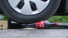 【强迫症福利】汽车VS可口可乐