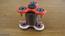 【解锁新姿势】神秘公解锁:指尖陀螺+强力磁铁=未来旋转磁铁?