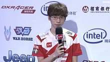 957赛后采访 放松的方式就是吃火锅