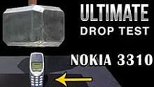 高空墮下91磅雷神之鎚能砸毀諾基亞3310嗎