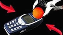 1000度镍球VS诺基亚3310