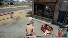 裸体求生:史上最无聊吃鸡套路,装假车停在路边