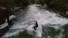 慕尼黑河冲浪,在当下年轻人中掀起热潮!
