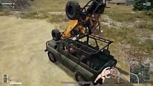 裸体求生:教你如何制作 8人座载具!!吃鸡的移动城堡!