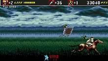 MD超级忍3代 最速通关表演第二关!忍术奥义秒杀BOSS