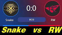 RW vs Snake LPL职业联赛