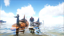 晓丁解说 方舟生存进化41 深海矿洞被电鳗群围殴