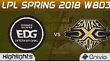 快速看完LPL EDG vs SS Game 1 3月21日