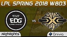 快速看完LPL EDG vs SS Game2 03月21日