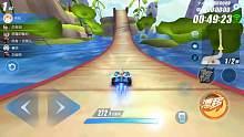 QQ飞车手游 第一次体验到A车猎影的撞墙加速的快感
