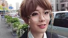 墨宝男装户外戴眼镜瞬间 帅气