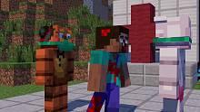 屋里蜘蛛侠和史蒂夫的幸福生活,屋外绿巨人却菊花中箭!