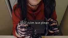 ASMR 番茄妹 45:黑色蕾丝手套