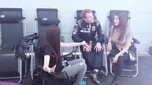 教欧洲冠军赛车手托马斯讲中文