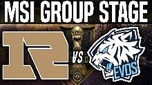 RNG vs EVS MSI季中邀请赛 第二日比赛