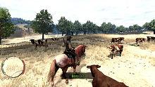 《荒野大镖客:救赎》04 妹有意来郎无心 牧场赶牛吃野草