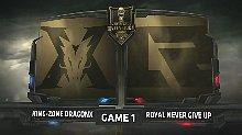 【台湾解说】KZ vs RNG 小组赛DAY4