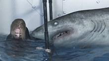 【阿达】动物世界里你没见过的,会狮吼功的鲨鱼!8分钟吐槽美国灾难片《冰川鲨鱼》