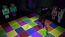 【我的世界】MC动画 怪物学校 舞池大狂欢