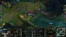MSI决赛3:小虎中路被抓 karsa支援即时反打拿下一血