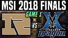 【2018MSI季中冠军邀请赛】RNG vs KZ 第一场