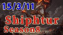 Shiphtur8.10版本中单龙王精彩排位比赛
