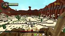 [翔麟]※Minecraft※當個創世神※小遊戲_牛仔與印第安人_#2