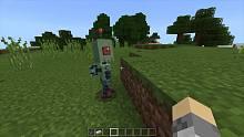 我的世界:兢兢业业的机器人奴仆