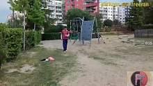 神奇少年的跑酷练习最搞笑的时刻