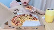 【ASMR】假的吃披萨咀嚼音(底噪感人)悦声 减压 助眠 放松