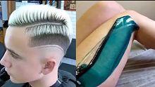 史上技术最强的理发师系列合集!看完我也想去剪一个!