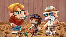入江闪闪:迷你世界小游戏-正经的学霸问答三人组里就没有学渣
