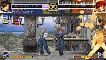 拳皇2002  草薙京(KYO)倒序双大蛇,收下我的火焰