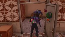 【OSAMU】《堡垒之夜》在游戏世界中「一开门发现有个人」的
