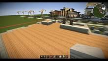 【當個創世神】Minecraft建築教學 - 35x35傳統別墅01【MaxKim】