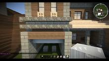 【當個創世神】Minecraft建築教學 - 35x35傳統別墅03【MaxKim】