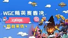 WGC微信精英赛总决赛:王者荣耀赛前采访!