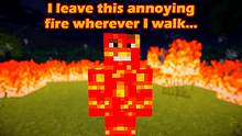 If Players were Made out of Lava - Minecraft