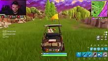 堡垒之夜新高尔夫球车和新地图游戏_clip5