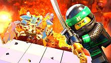《乐高旋风忍者》16 螃蟹机甲袭来!火山口的音乐狂欢「游乐熊」