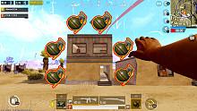 刺激战场丨决赛圈6颗把直接把躲在屋子里的敌人炸蒙了!