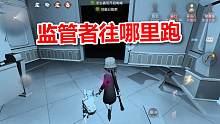 第五人格:盲女太强了,溜到监管者直接投降,红蝶都哭了