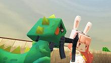 入江闪闪迷你世界小游戏:刺激战场之枪王闪完全不怂,但死于臭美