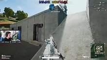 【Shroud绝地求生】外挂级别操作M762四倍镜压枪就是稳
